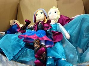コストコディズニープリンセス「アナと雪の女王」人形