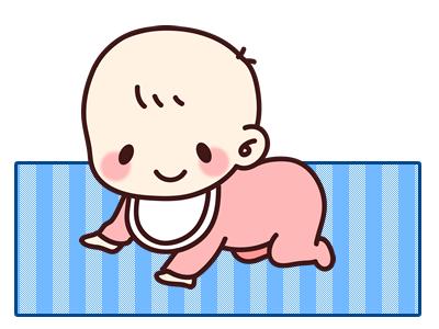赤ちゃんのプレイマット