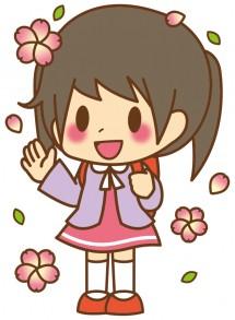 女の子_入学式